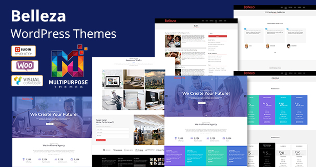 35+ All New Awesome Multipurpose Responsive WordPress Themes