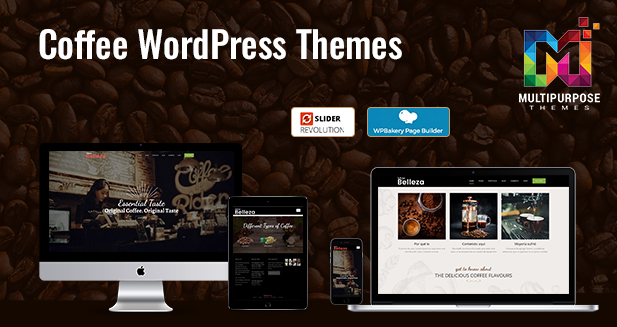 Coffee Shop Responsive WordPress Theme