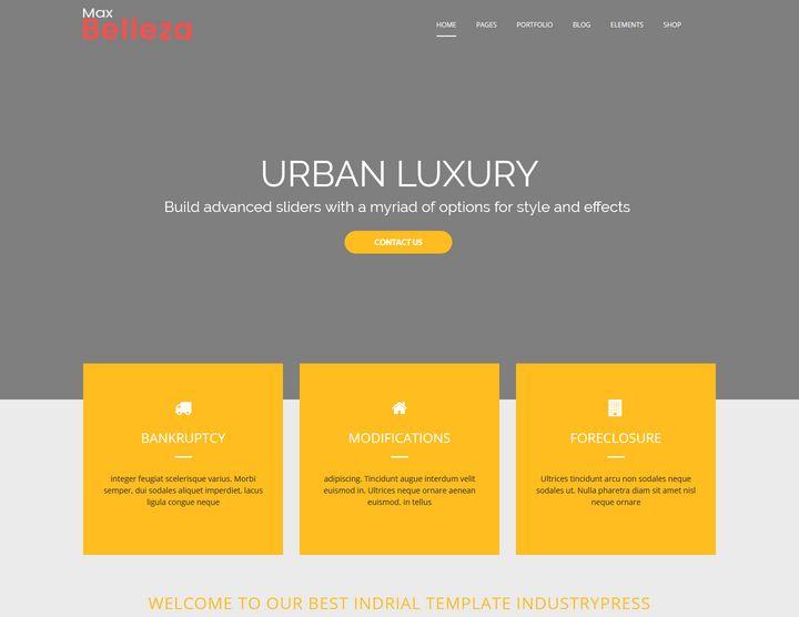 Construction Premium WordPress Theme
