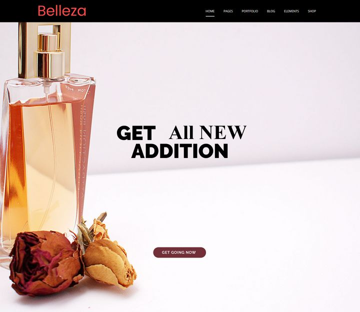 Fragrance Responsive WordPress Theme