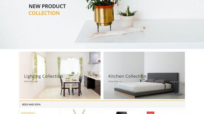 Furniture Store Responsive WordPress Theme