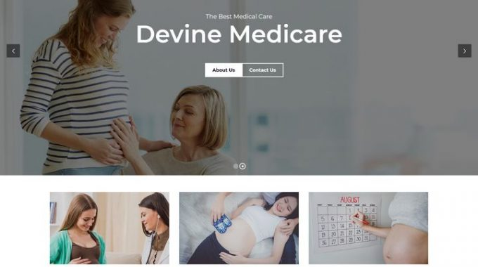 Pregnancy Responsive WordPress Theme