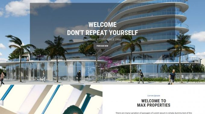 Property Responsive WordPress Themes