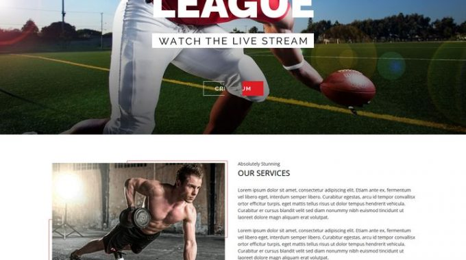 Sports Premium Responsive WordPress Themes