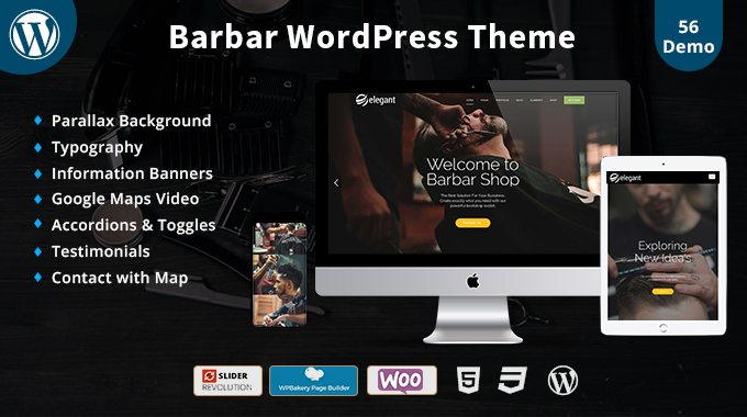 Barber Responsive WordPress Theme
