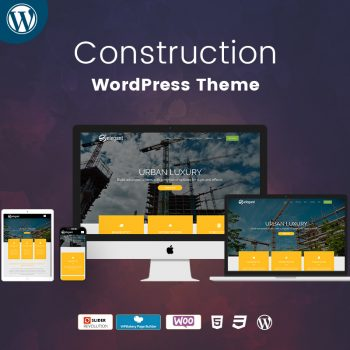 Construction WordPress Theme Demo 2