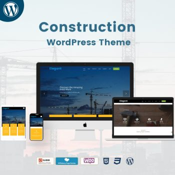 Construction WordPress Theme Demo 3