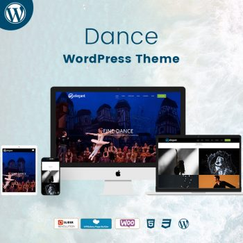 Dance WordPress Theme