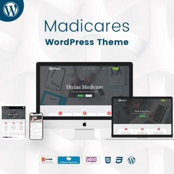 Madicares WordPress Theme