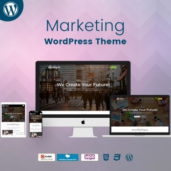 Marketing WordPress Theme Demo 2