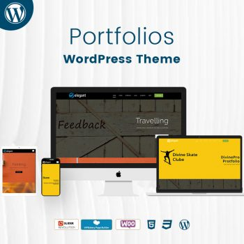 Portfolios WordPress Theme Demo 2