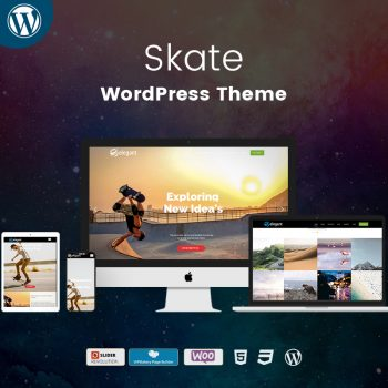 Skate WordPress Theme