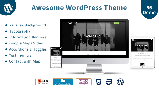 Awesome Responsive WordPress Theme