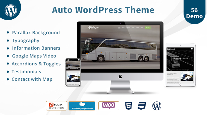 Auto Responsive WordPress Theme