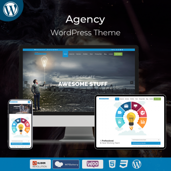 Agency Business WordPress Theme