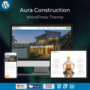 Aura Construction WordPress Theme