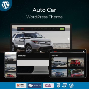 Auto Car Business WordPress Theme