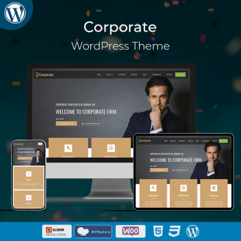 Corporate Firm WordPress Theme