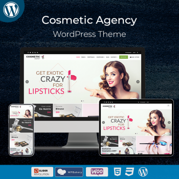 Cosmetic Agency WordPress Theme