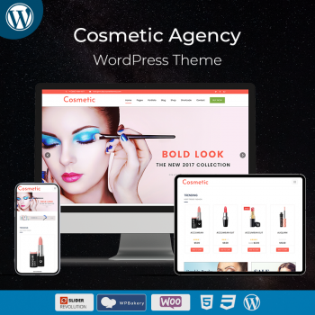 Cosmetic Business WordPress Theme