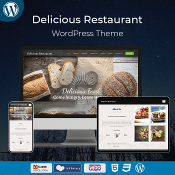 Delicious Restaurant WordPress Theme