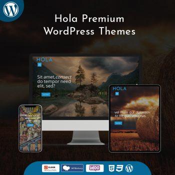 Hola Premium WordPress Themes