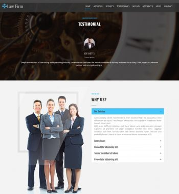 Law Firm WordPress Theme