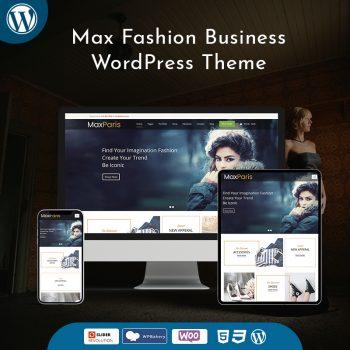 Max Fashion Business WordPress Theme