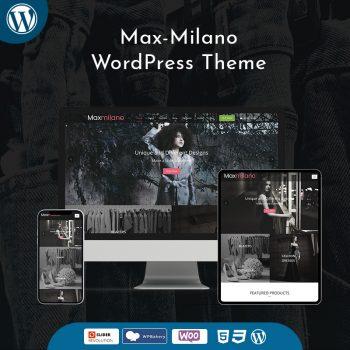 Max-Milano Fashion WordPress Theme