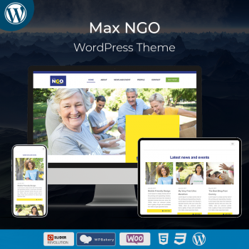Max NGO Responsive WordPress Theme