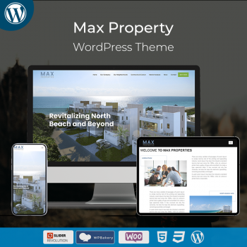 Max Property WordPress Theme