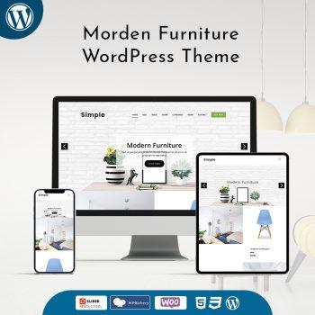 Morden Furniture WordPress Theme