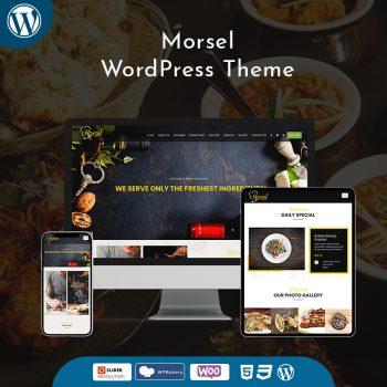 Morsel Responsive Restaurant WordPress Theme