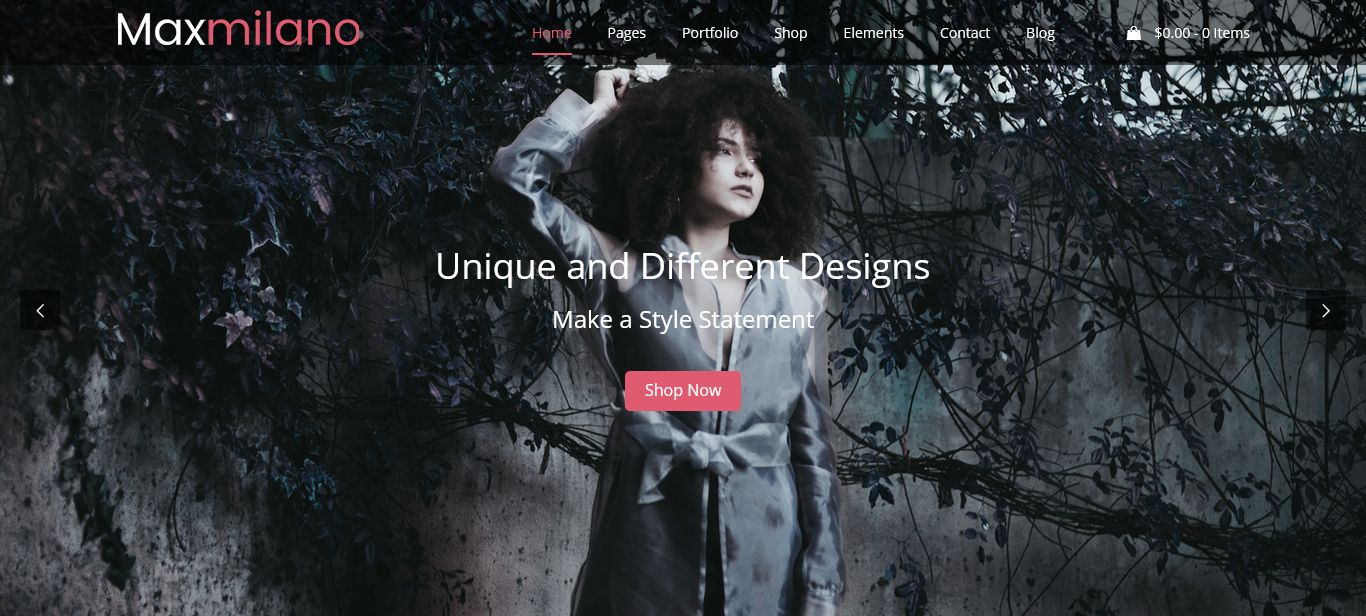 Fashion WordPress Theme Chicago