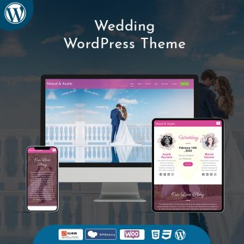 Wedding Premium WordPress Themes