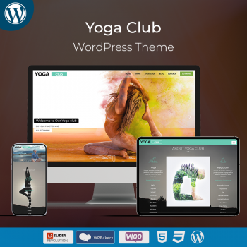 Yoga Club Responsive WordPress Theme