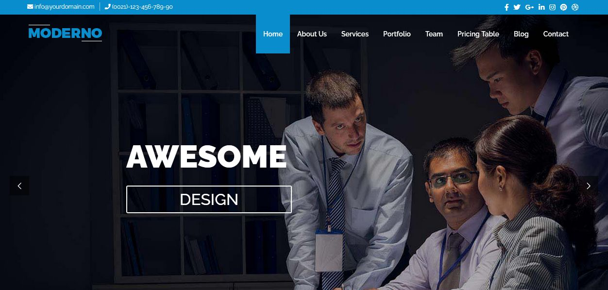 Business WordPress Theme Chicago