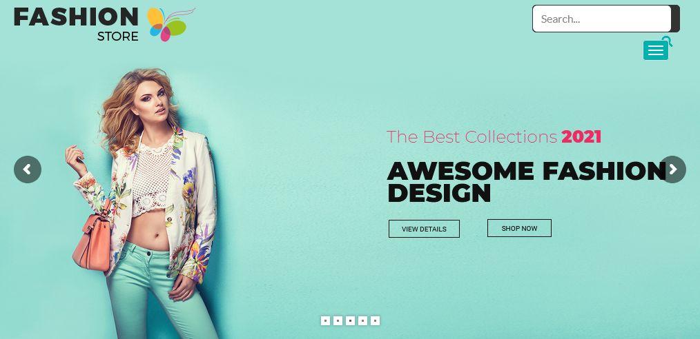 Fashion Store WordPress Theme Chicago
