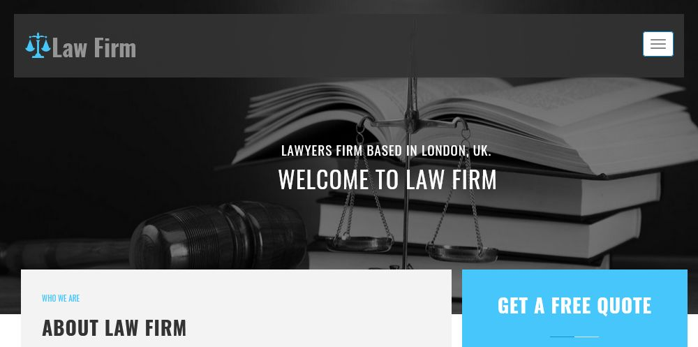 Law Firm WordPress Theme Chicago