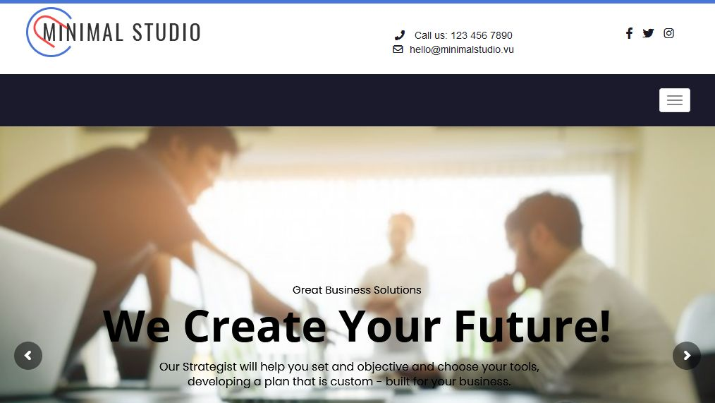 Business WordPress Theme Los Angeles