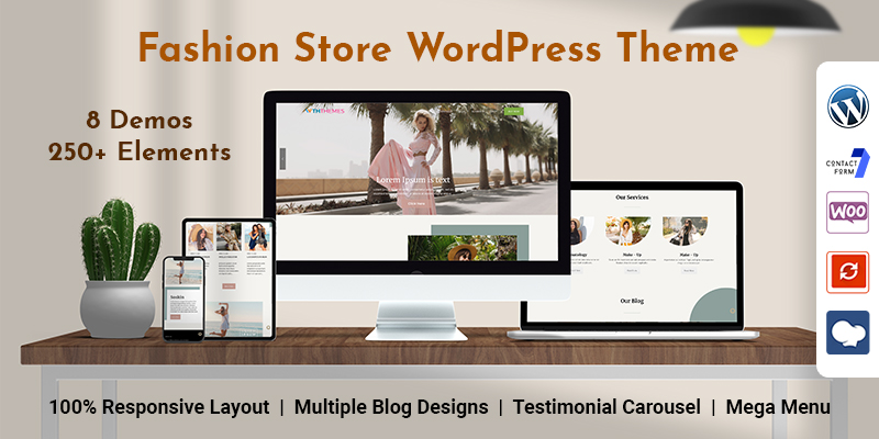 Fashion Store WordPress Theme