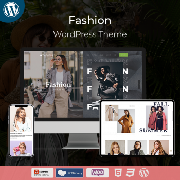 Responsive Fashion Store WordPress Theme