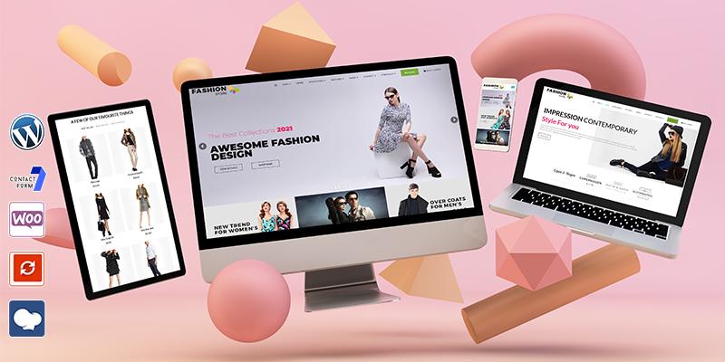 Fashion Store WordPress Theme Los Angeles