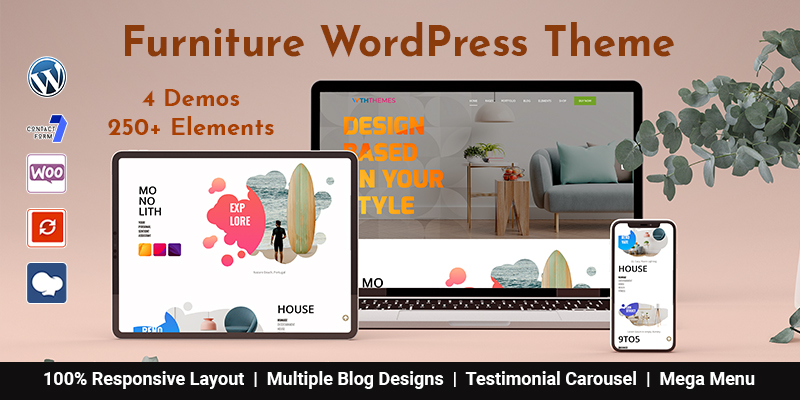 Furniture WordPress Theme Chicago