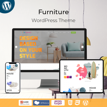Multipurpose Responsive Furniture WordPress Theme