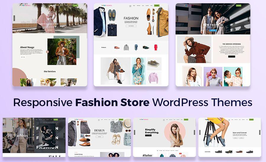 Responsive Fashion Store WordPress Theme Chicago