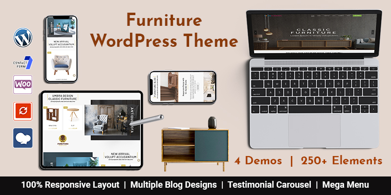 Furniture WordPress Theme Chicago
