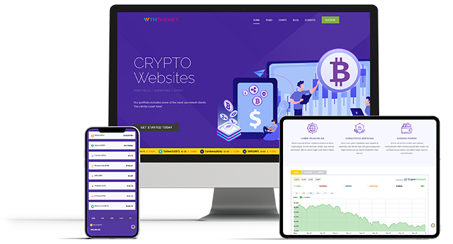 Best Bitcoin Cryptocurrency WordPress Themes