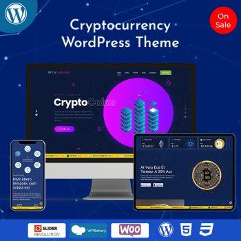 Best Cryptocurrency WordPress Theme + Bitcoin Theme