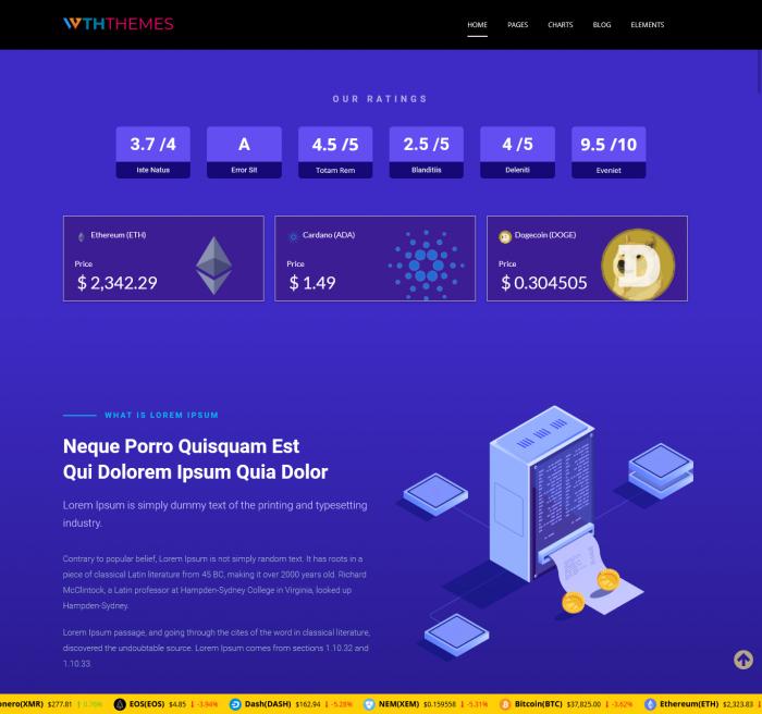 Bitcoin Crypto WordPress Themes